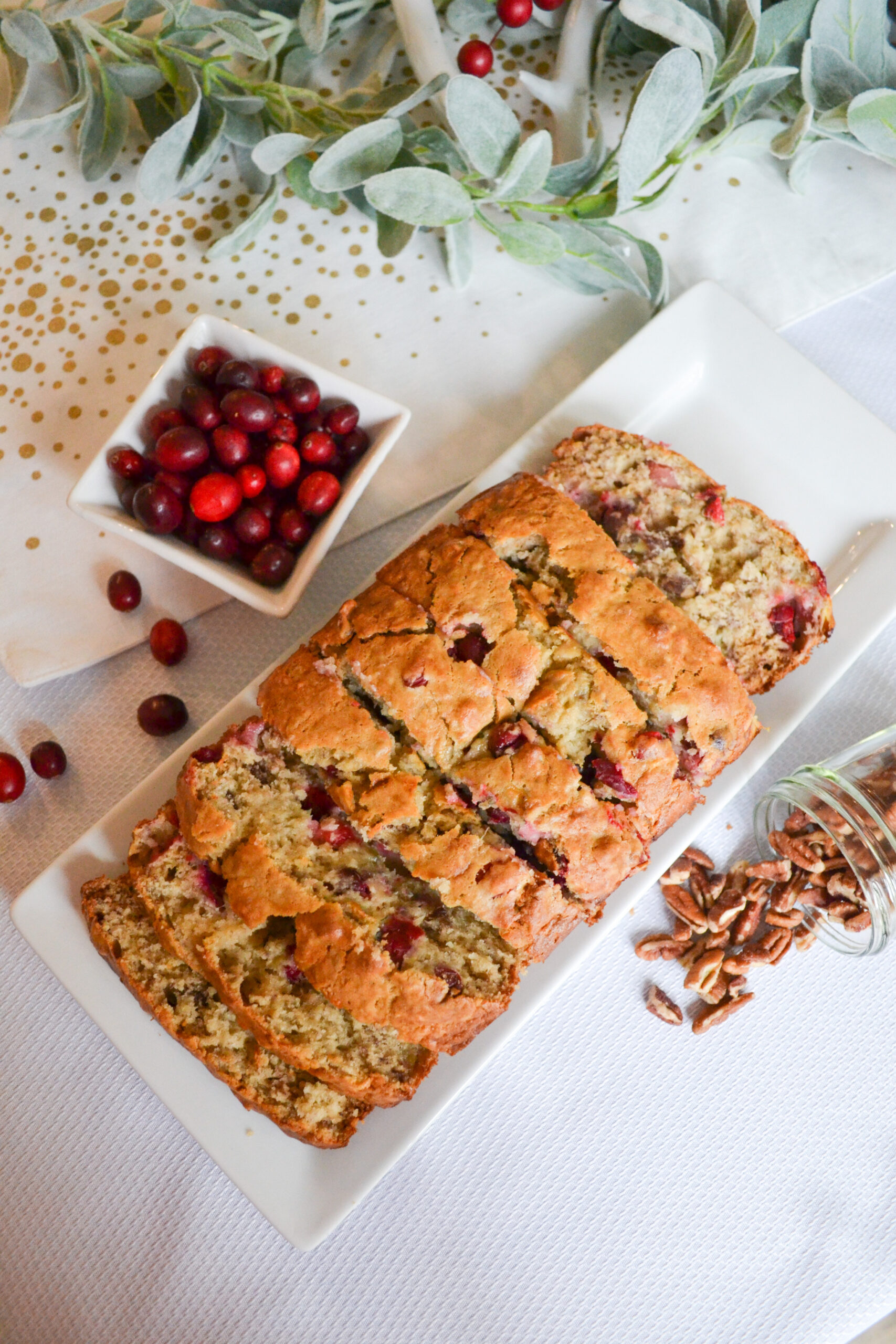 Cranberry Banana Nut Bread
