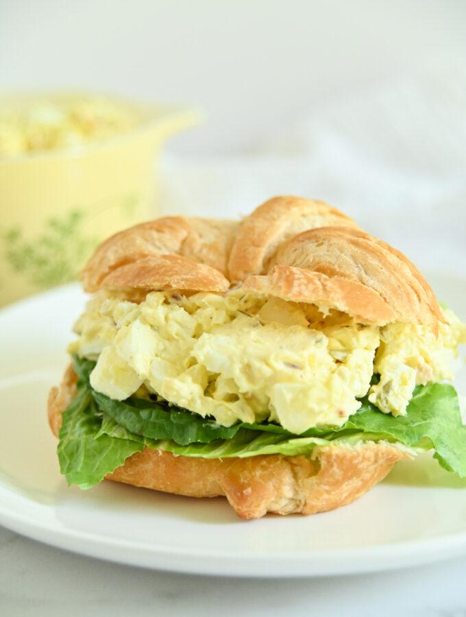 Cream Cheese and Bacon Egg Salad