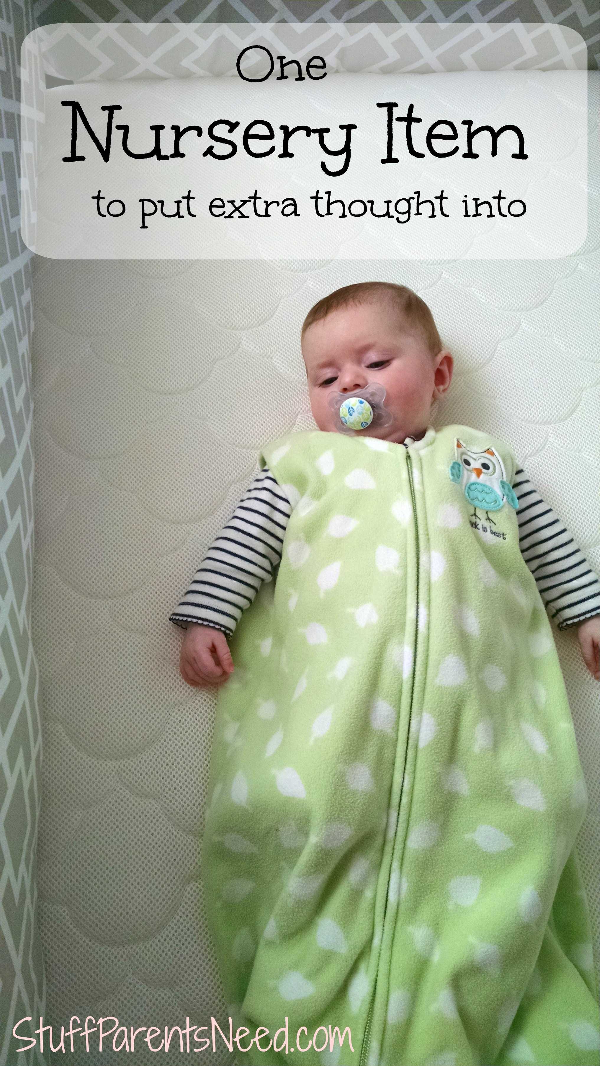 One important nursery item to research - Newton Crib Mattress Review