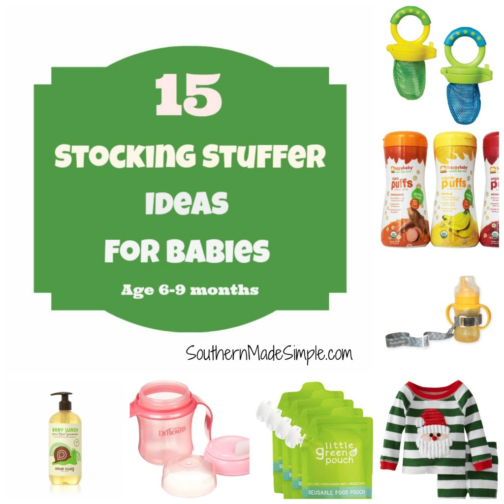 Stocking Stuffer Ideas for Babies 6-9 months