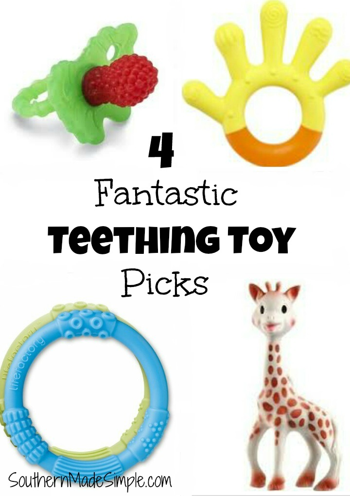 Top 4 Teething Toy Picks