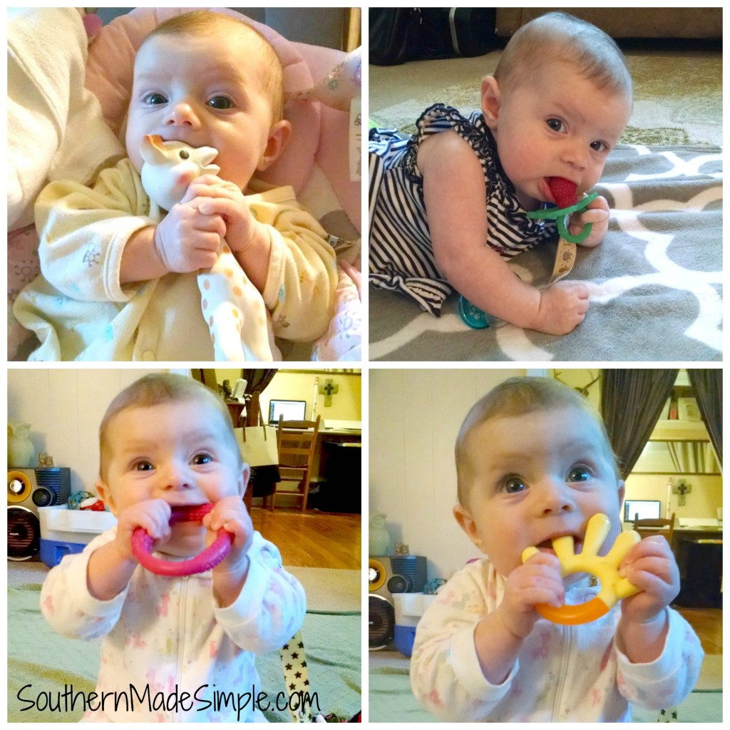 Top 4 teething toys