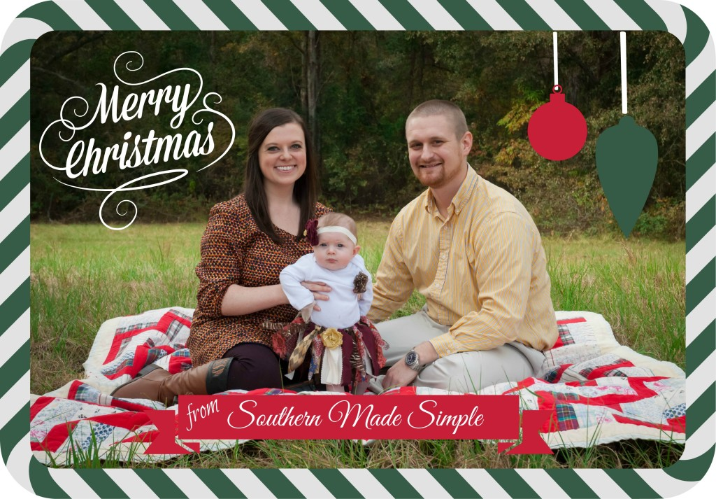 Merry Christmas Southern Made Simple!