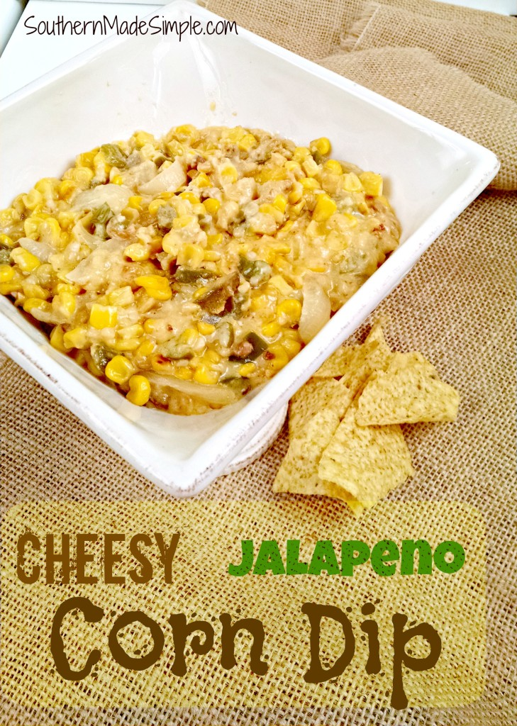 This Cheesy Jalapeno Corn Dip Recipe will make you the talk of the party!