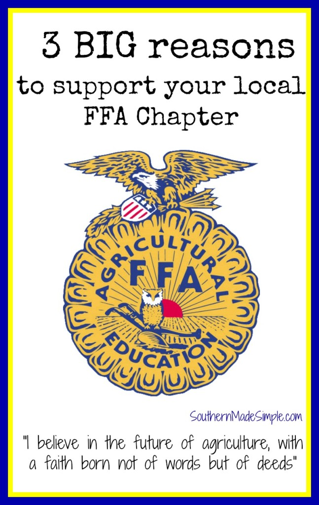 3 BIG reasons to Support the FFA
