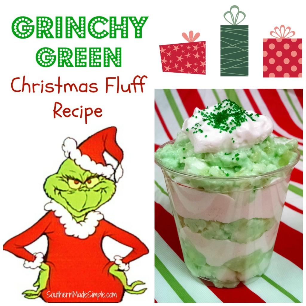 Grinch Christmas Dessert