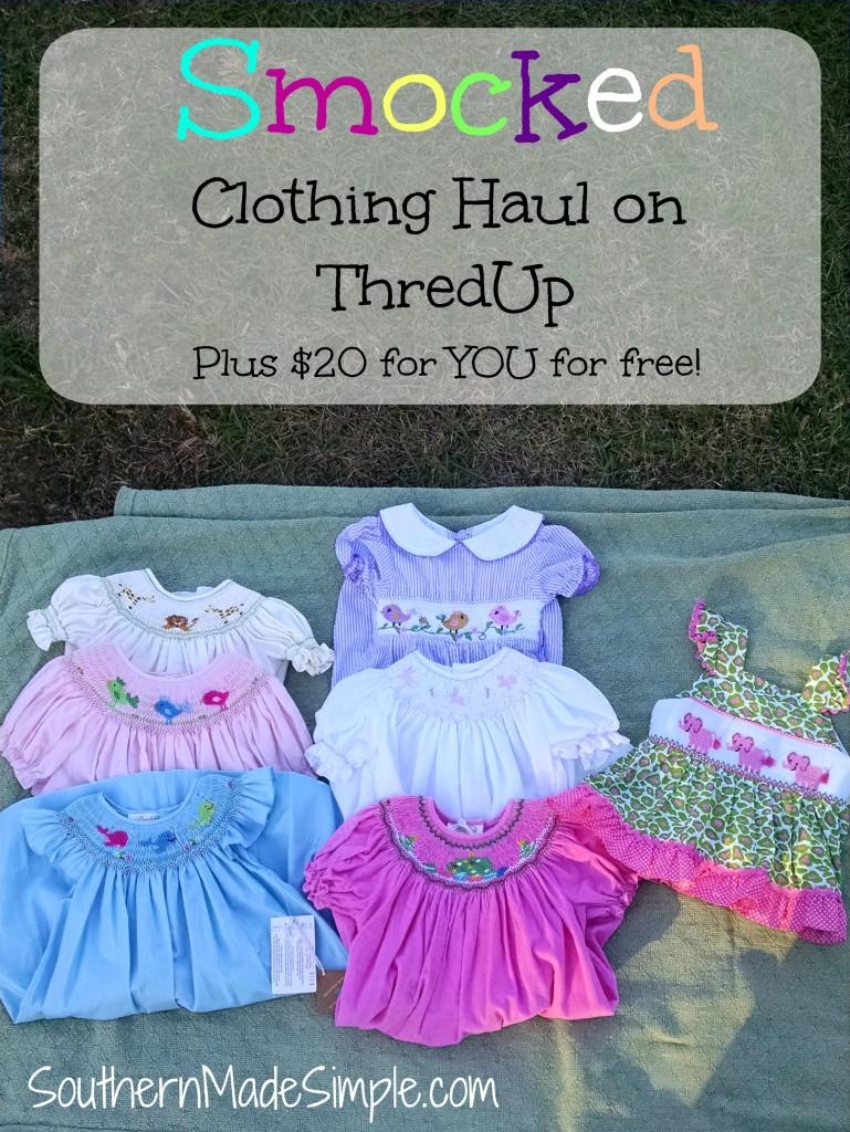 ThredUp Unboxing - Smocked Clothing Haul