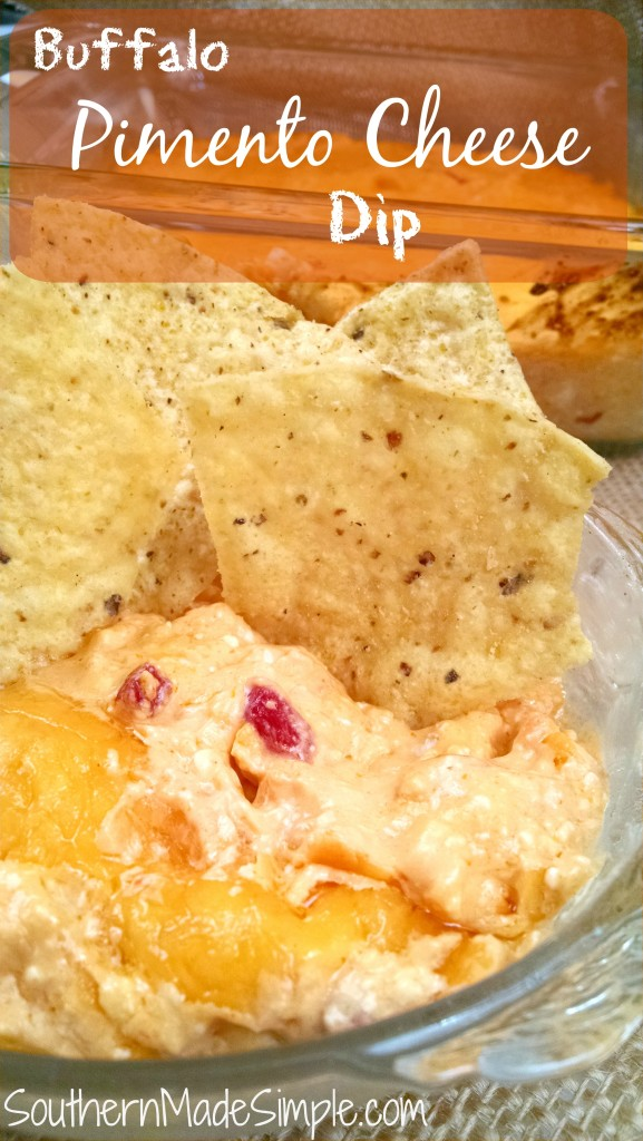 Buffalo Pimento Cheese Dip Recipe - This dip in sinful, y'all!