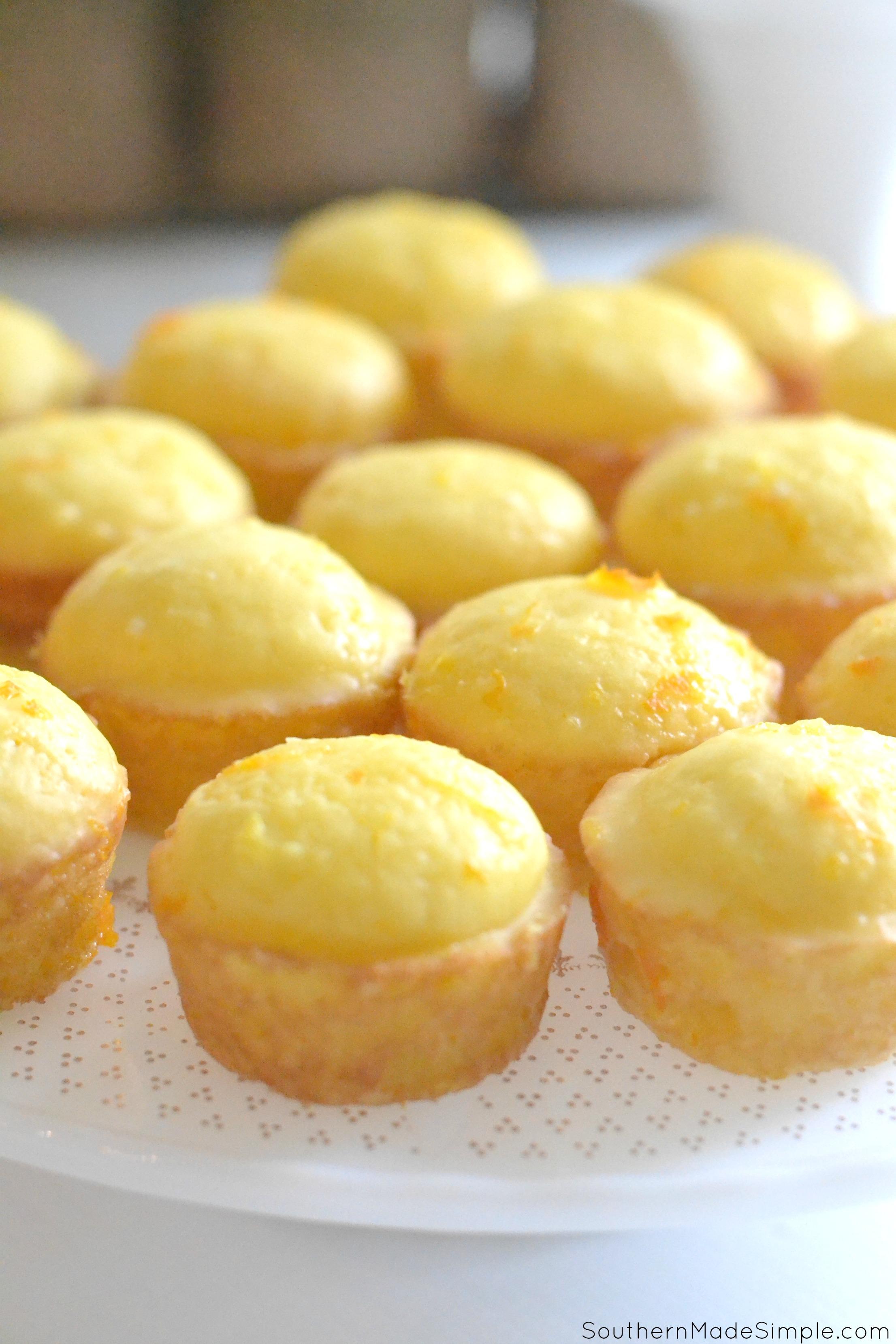 Grandmama's Lemon Cakes
