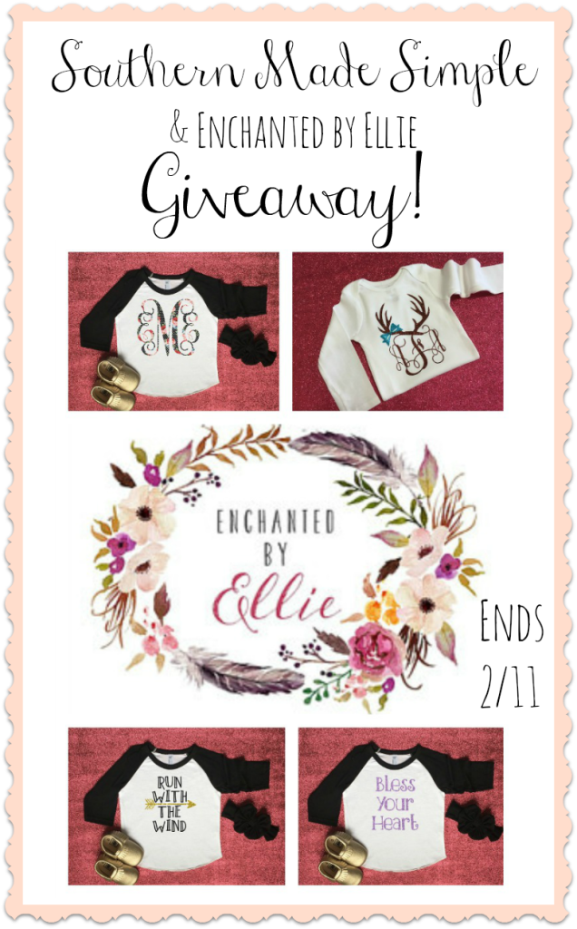 Adorable Kids Fashion from Enchanted by Ellie! + GIVEAWAY for a shirt of your choice! Ends 2/11