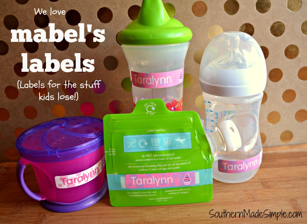 Do Your Kids Tend to Lose Their Stuff? Mabel's Labels Can Help!