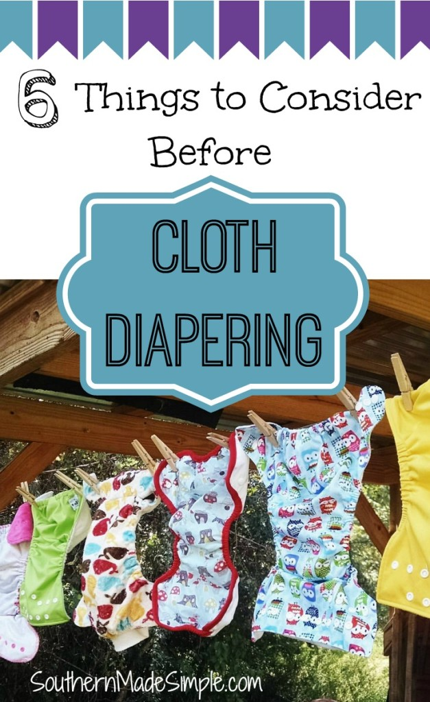 Interested in cloth diapering? Read this before you get started!
