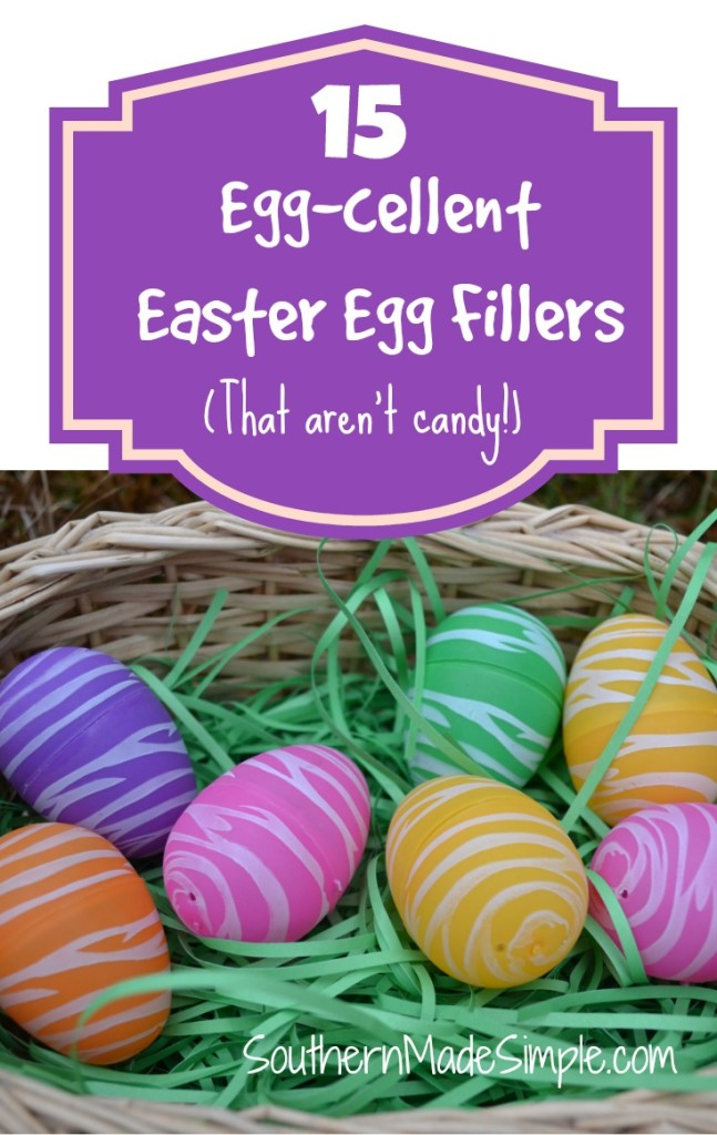 15 Easter Egg Filler ideas that aren't candy
