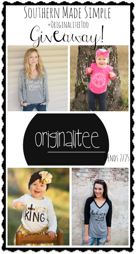 OriginaliteeToo on Etsy - Review + Giveaway Ends 2/25/16