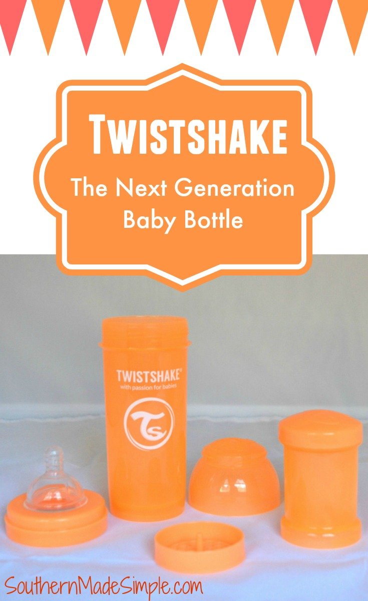 Twistshake - The Next Generation Baby Bottle Review + Giveaway!