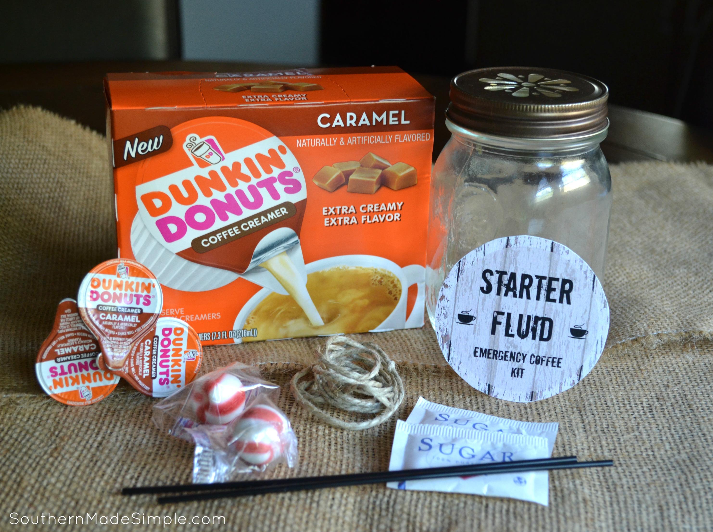 DIY Starter Fluid Emergency Coffee Kit + free printable #ad #DDCreamers
