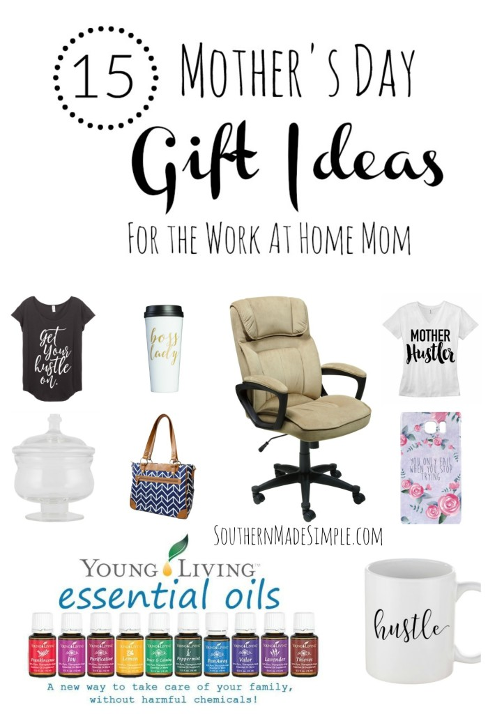 15 Mother's Day Gift Ideas - Perfect for the Work at Home Mom! #mothersday