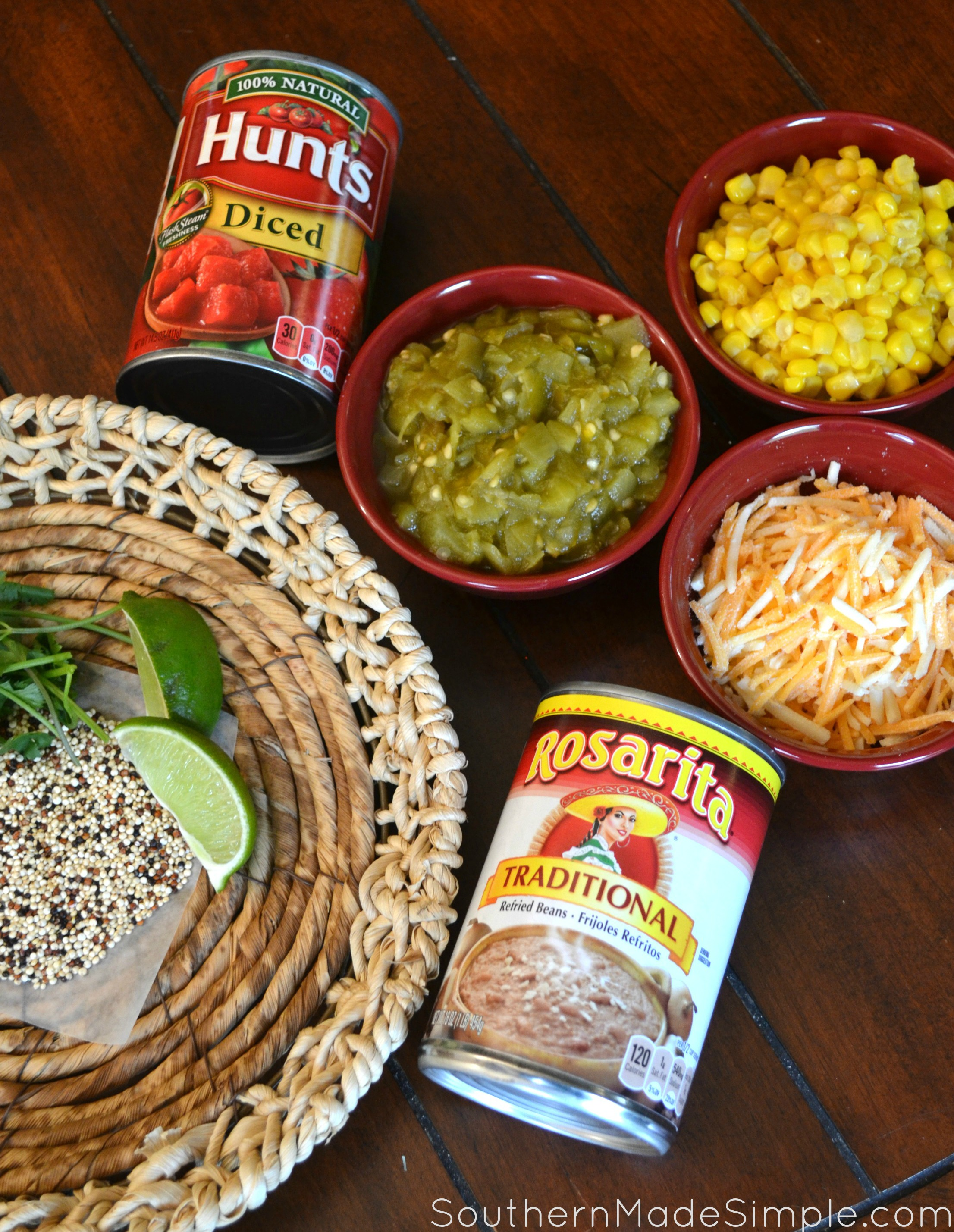 7 layer Mexican Fiesta Dip - The perfect way to spice up your family Mexican night! + Time Saving Kitchen Hack: How to cook Quinoa in the Microwave #YesYouCAN #ad