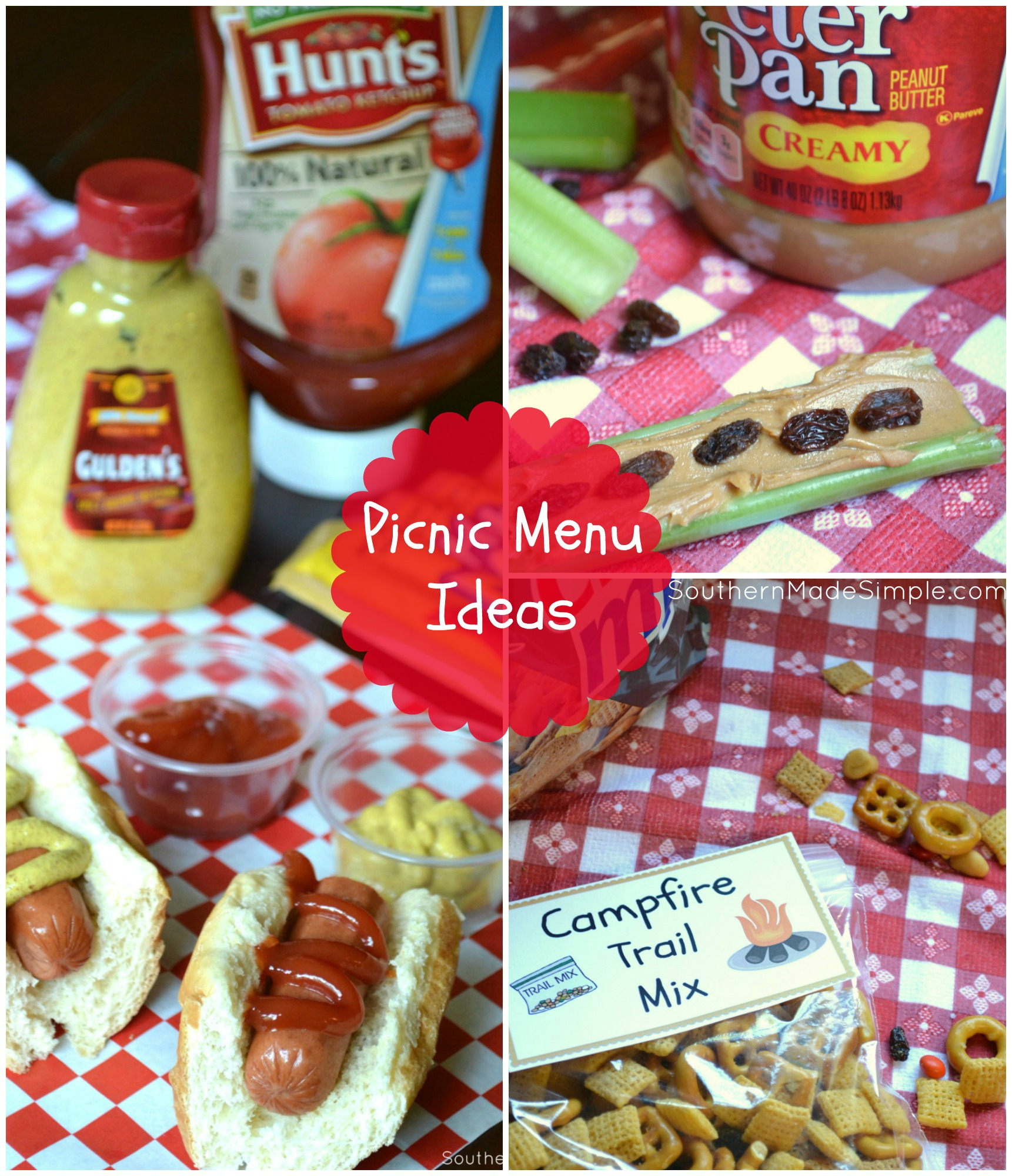 Rainy day bringing you down? Bring the outdoors IN and throw an indoor picnic! Tips and ideas on picnic-themed foods and 5 FREE printables included! #StormStockUp #ad