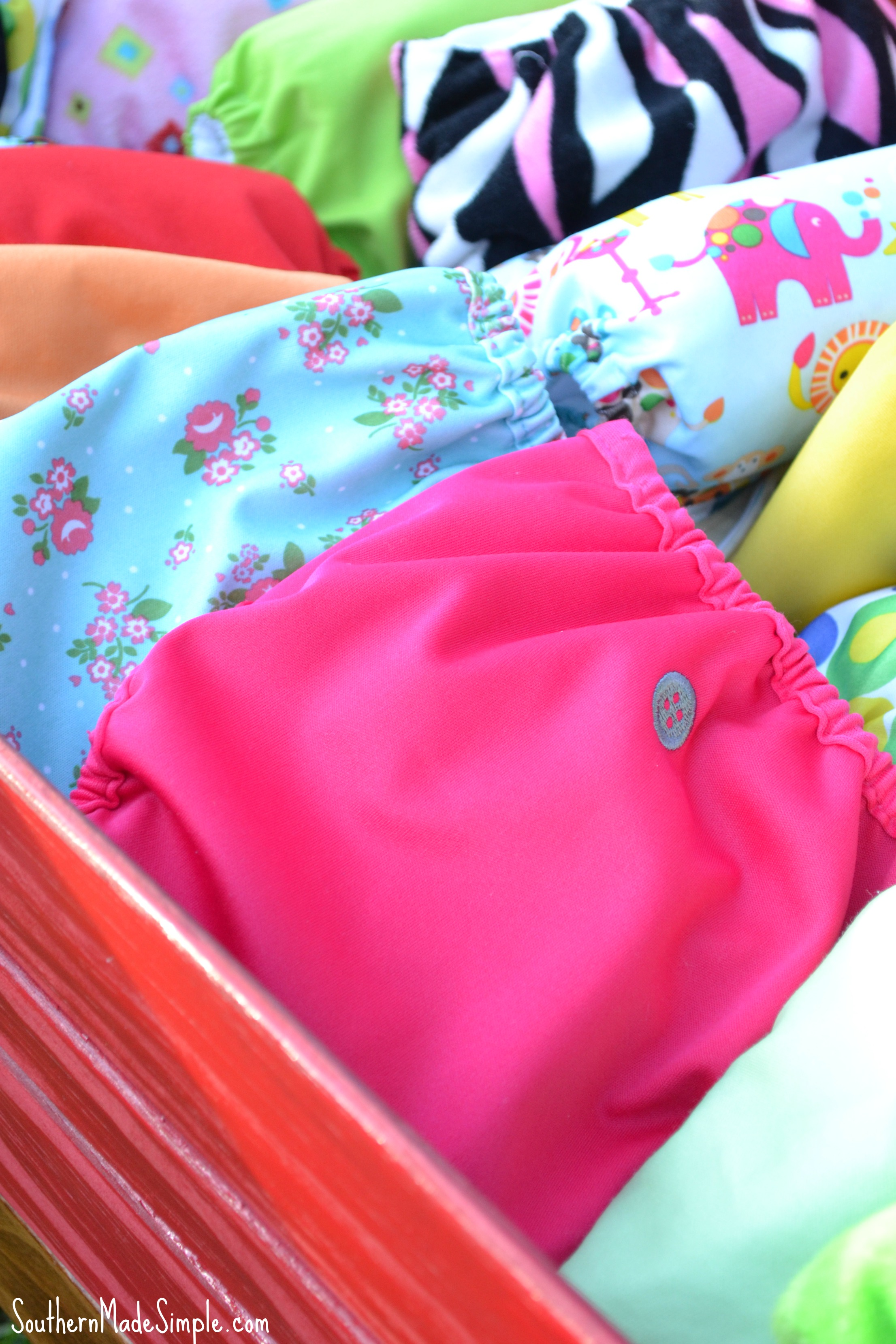 Things Learned Cloth Diapering