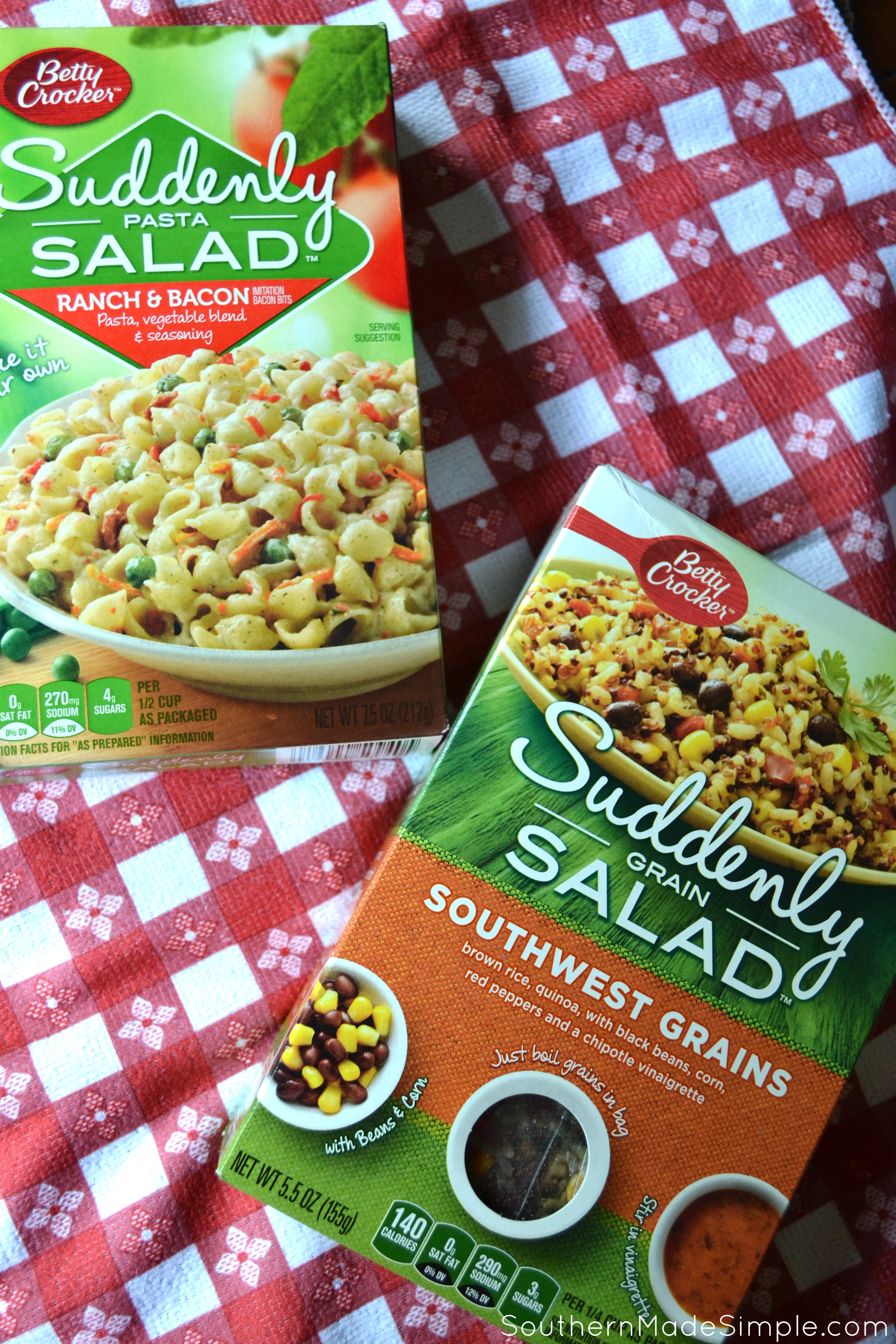 How to Simplify Your 4th of July Menu (And Spice it Up, Too!) #SuddenlySaladSummer #Ad