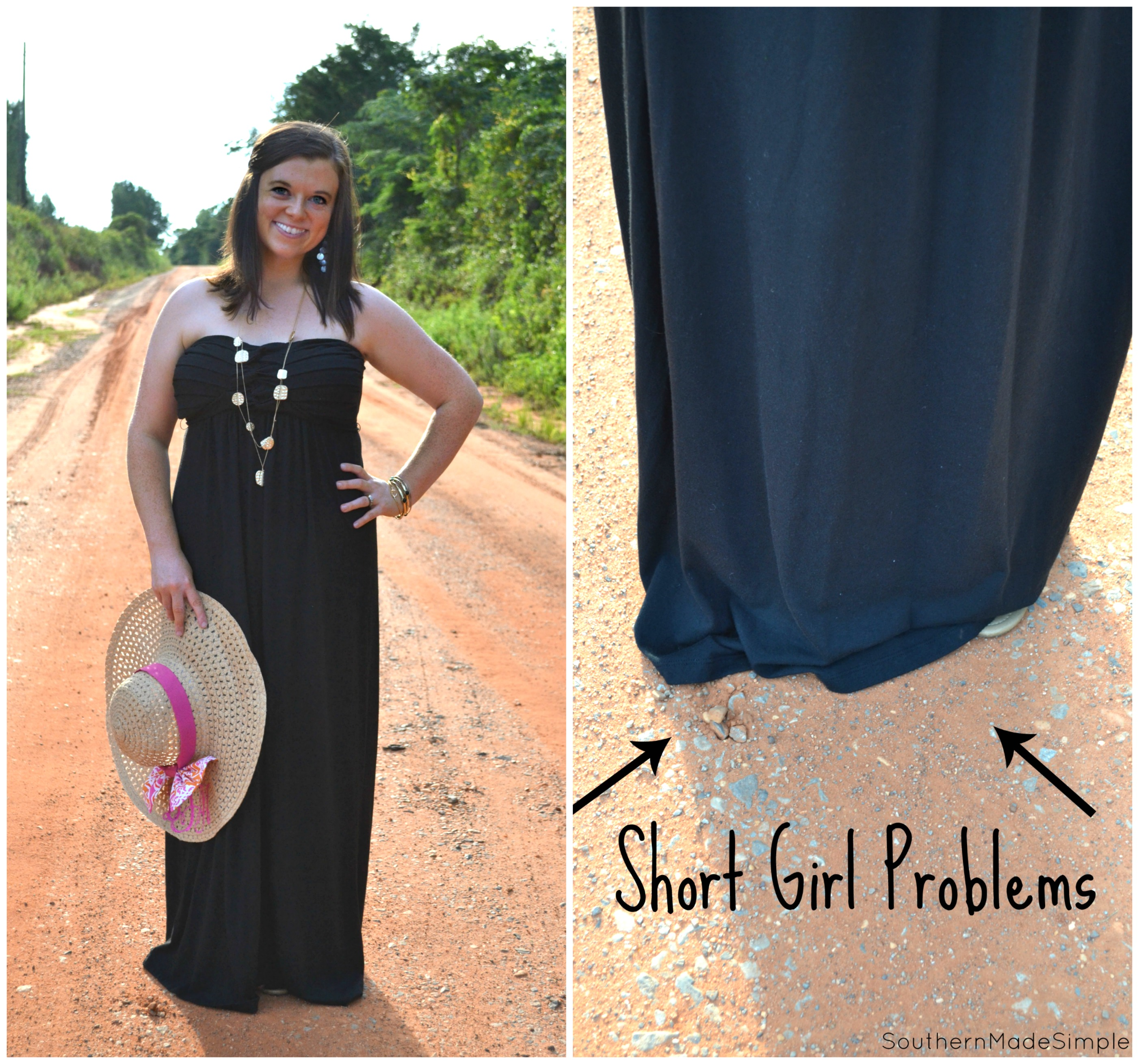 A Short Girl's Guide to Rocking Summer Dresses - avoid the tailor and give your clothing a new look! #WardrobeSolutions #ad
