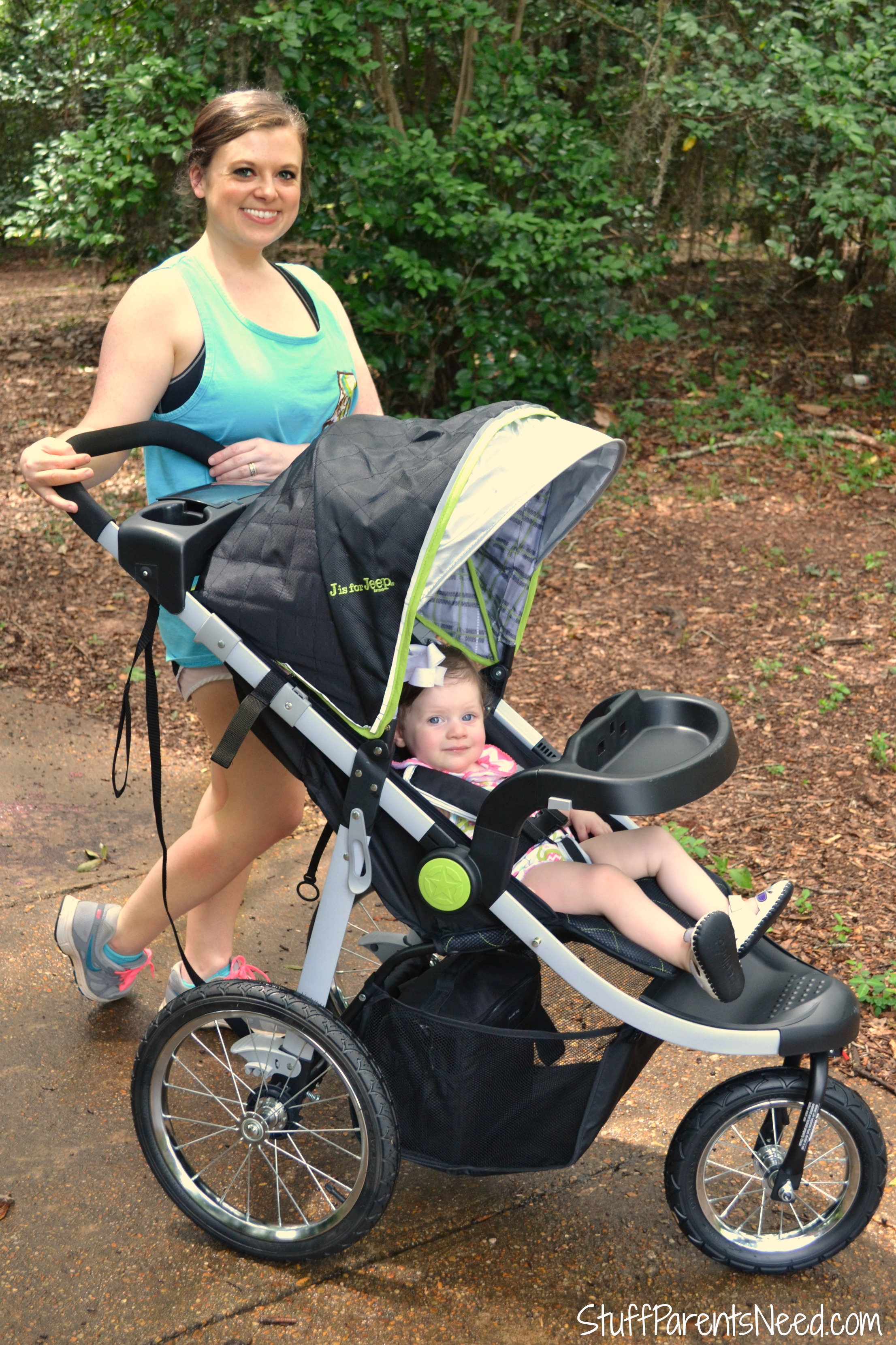 Jeep Brand Terrain Jogging Stroller (GIVEAWAY!)