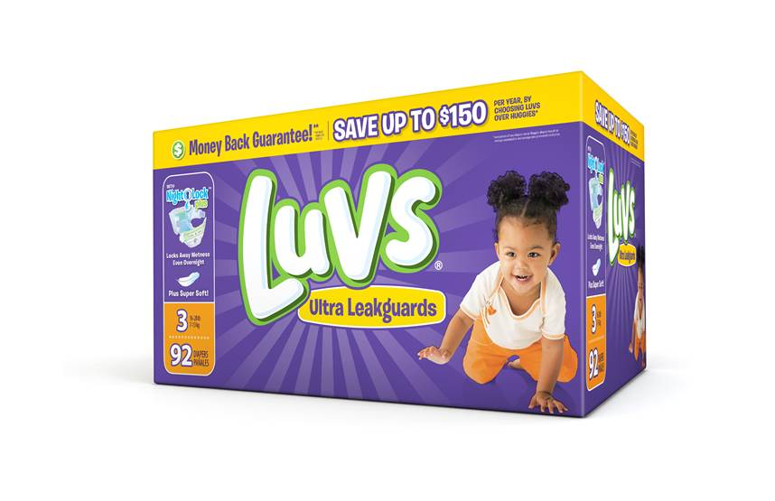 #ShareTheLuv Luvs Diapers