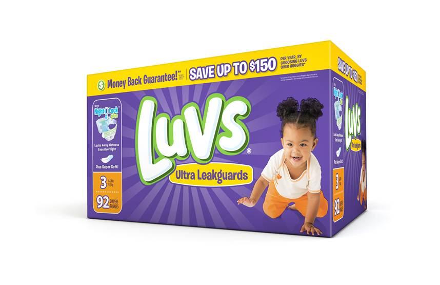 #ShareTheLuv Luvs Diapers