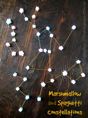 Marshmallow and Spaghetti Constellations