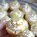Mini Key Lime Pie Bites | A perfect little recipe that will make you feel like you're sitting right on the beach!