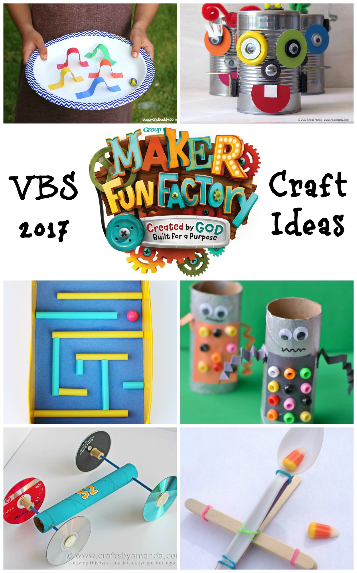 2019 Vbs Decorating Ideas Maker Fun Factory Maker Fun Factory VBS Craft Ideas   Southern Made Simple