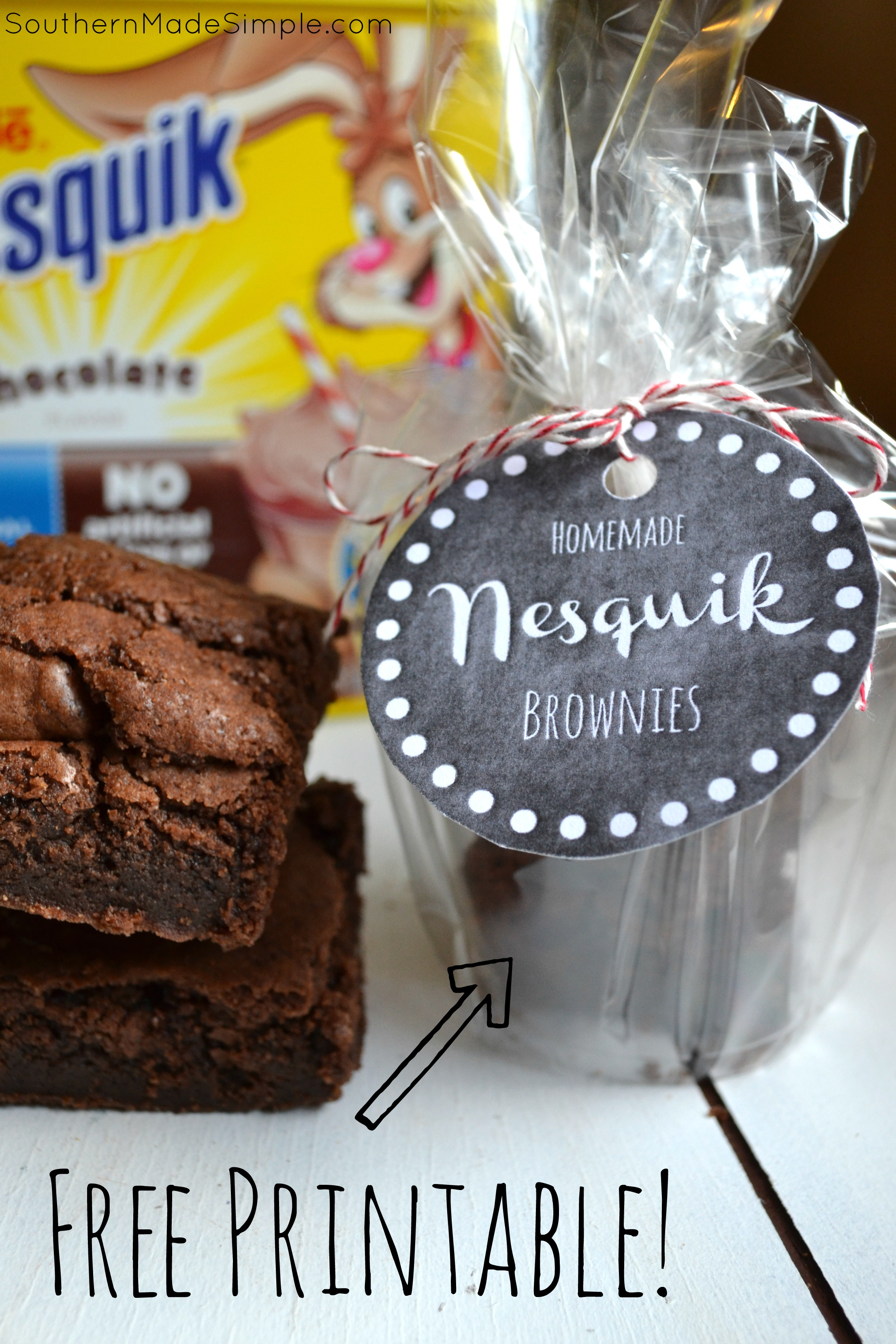 Nesquik Brownies - A Perfect Back to School Treat + FREE Printable ...
