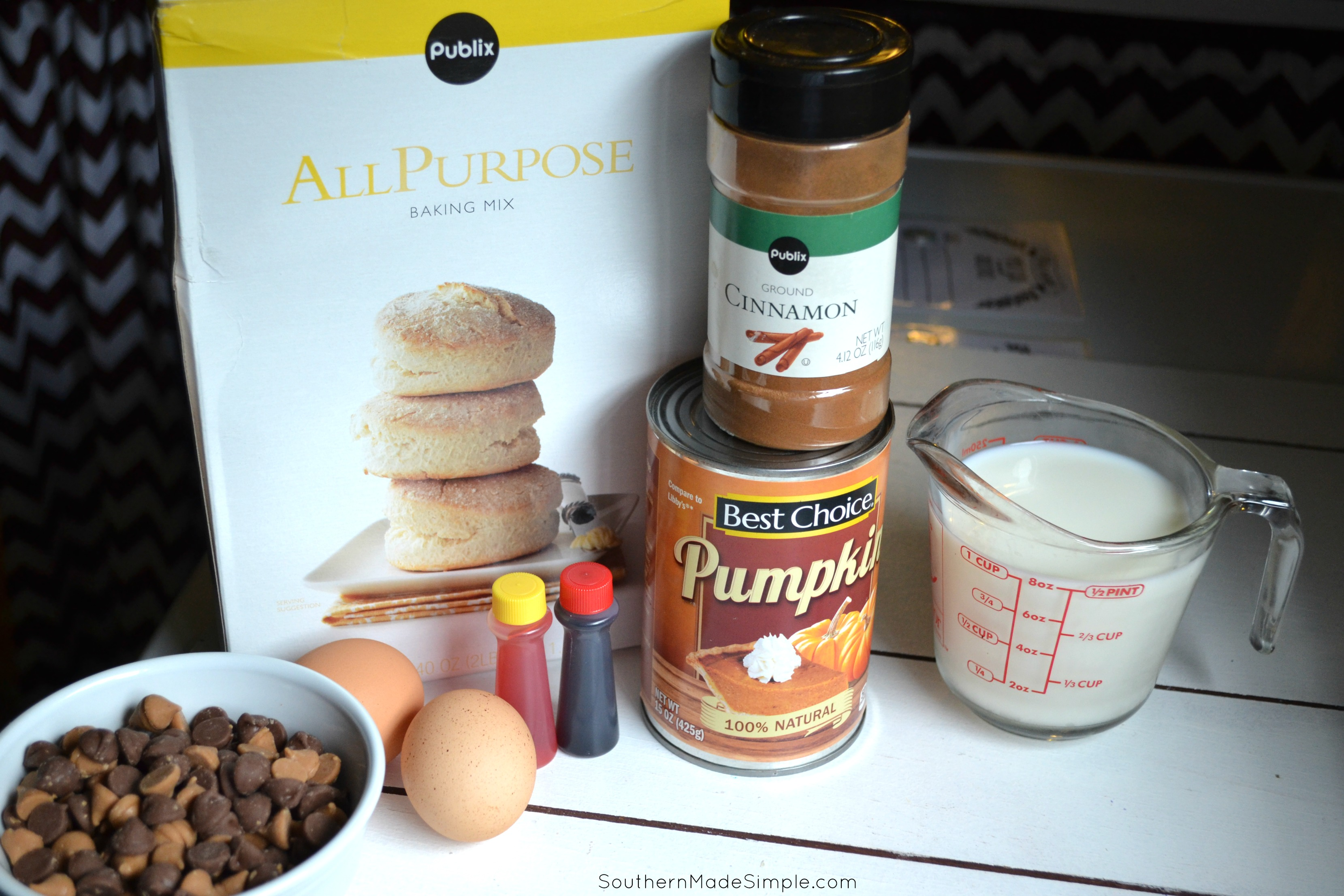 Haunted Halloween Pancakes   These SUPER simple pumpkin pancakes make for a perfect Halloween morning treat!