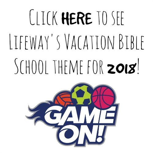 Lifeway VBS 2018 Theme