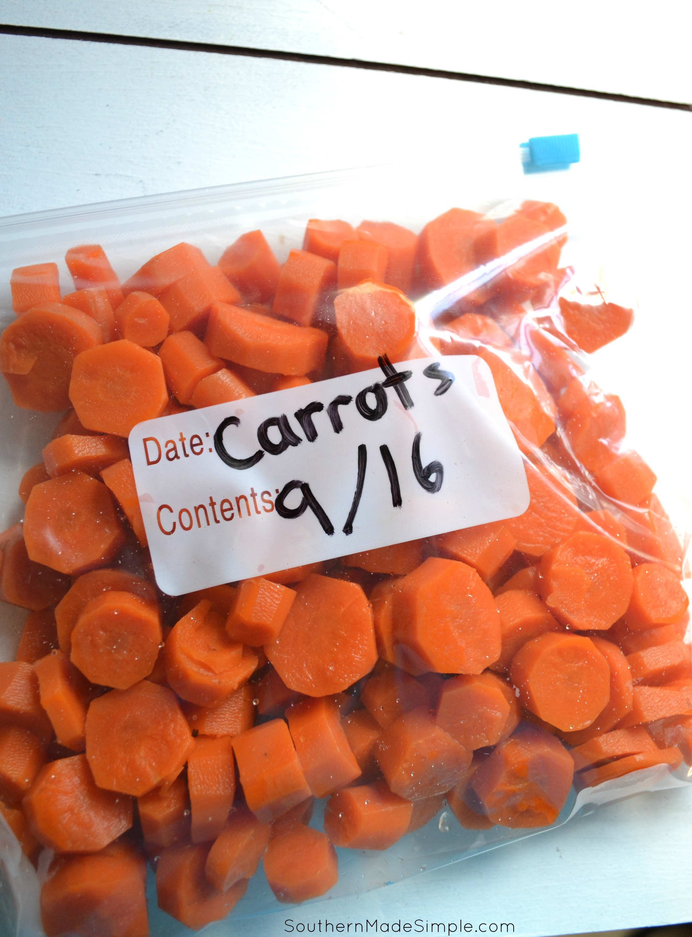 How to Freeze Carrots pictures