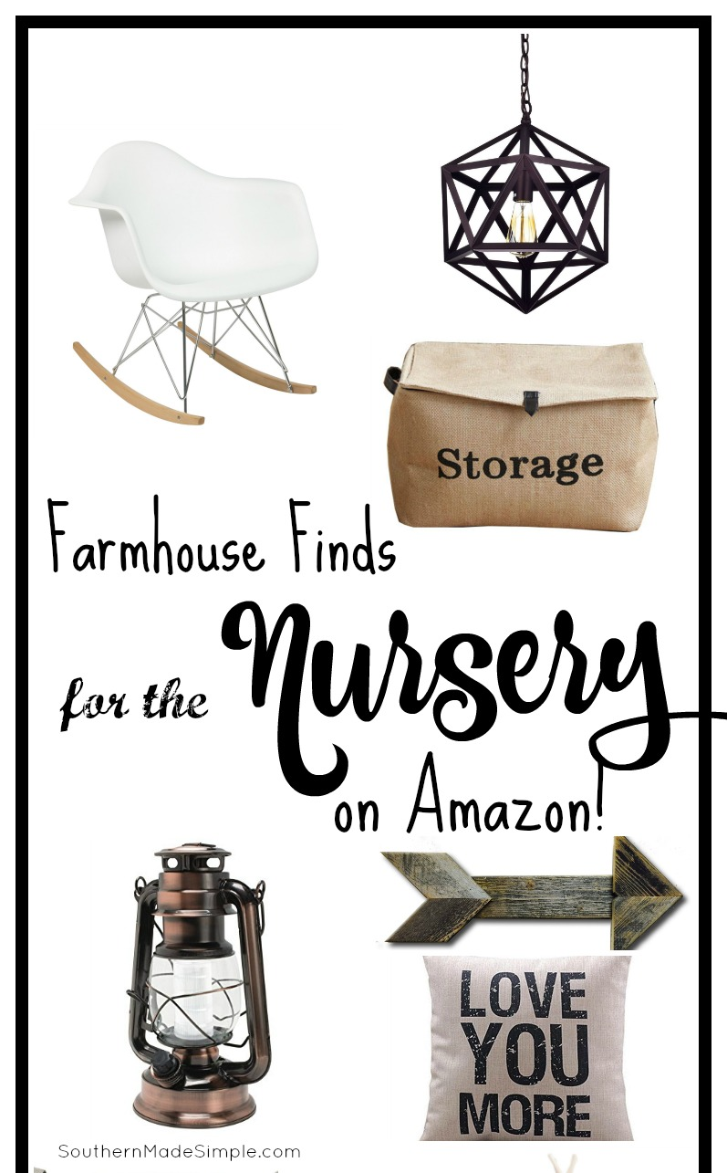 Farmhouse Nursery Decor Finds Amazon