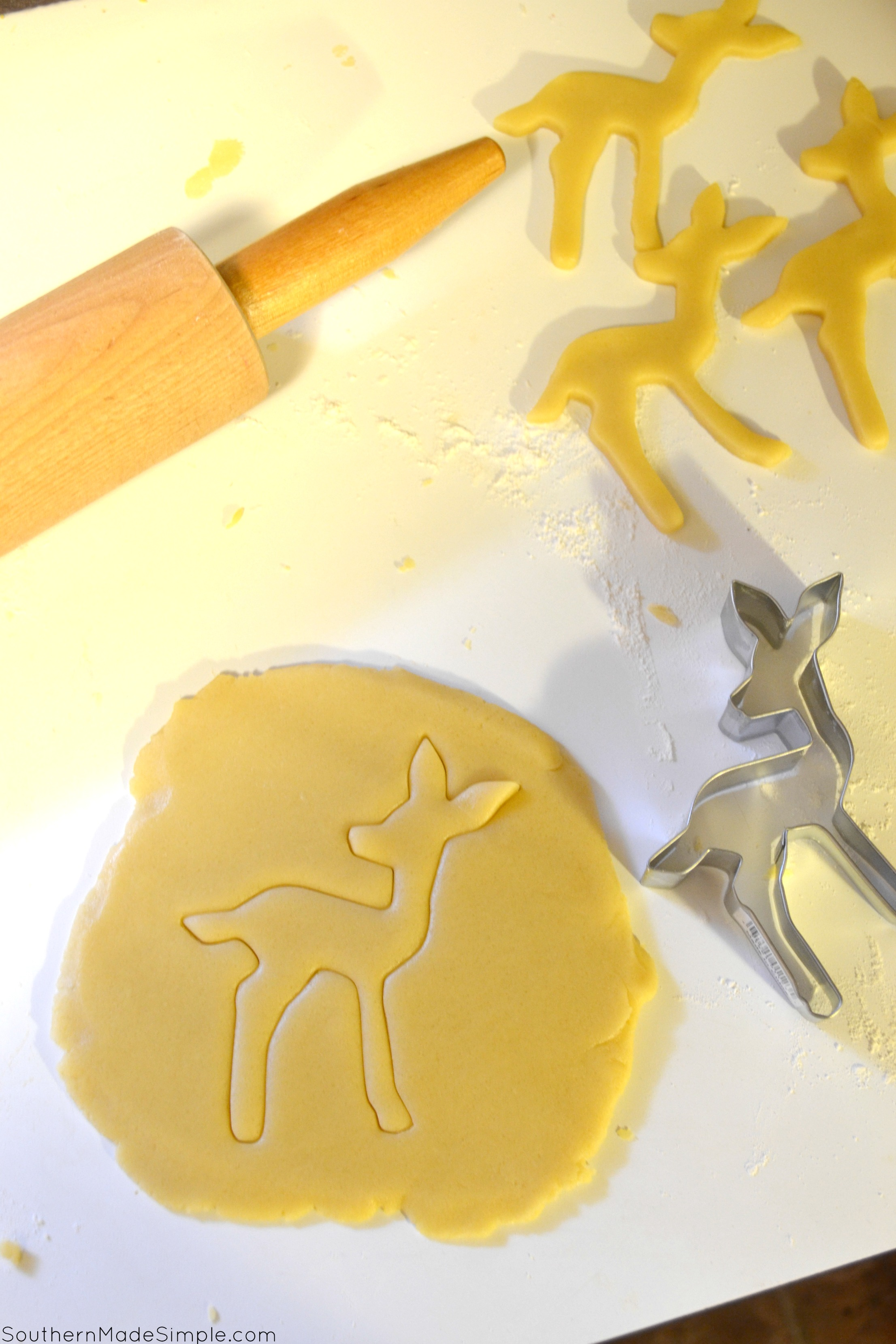 Sweet Little Fawn Sugar Cookies