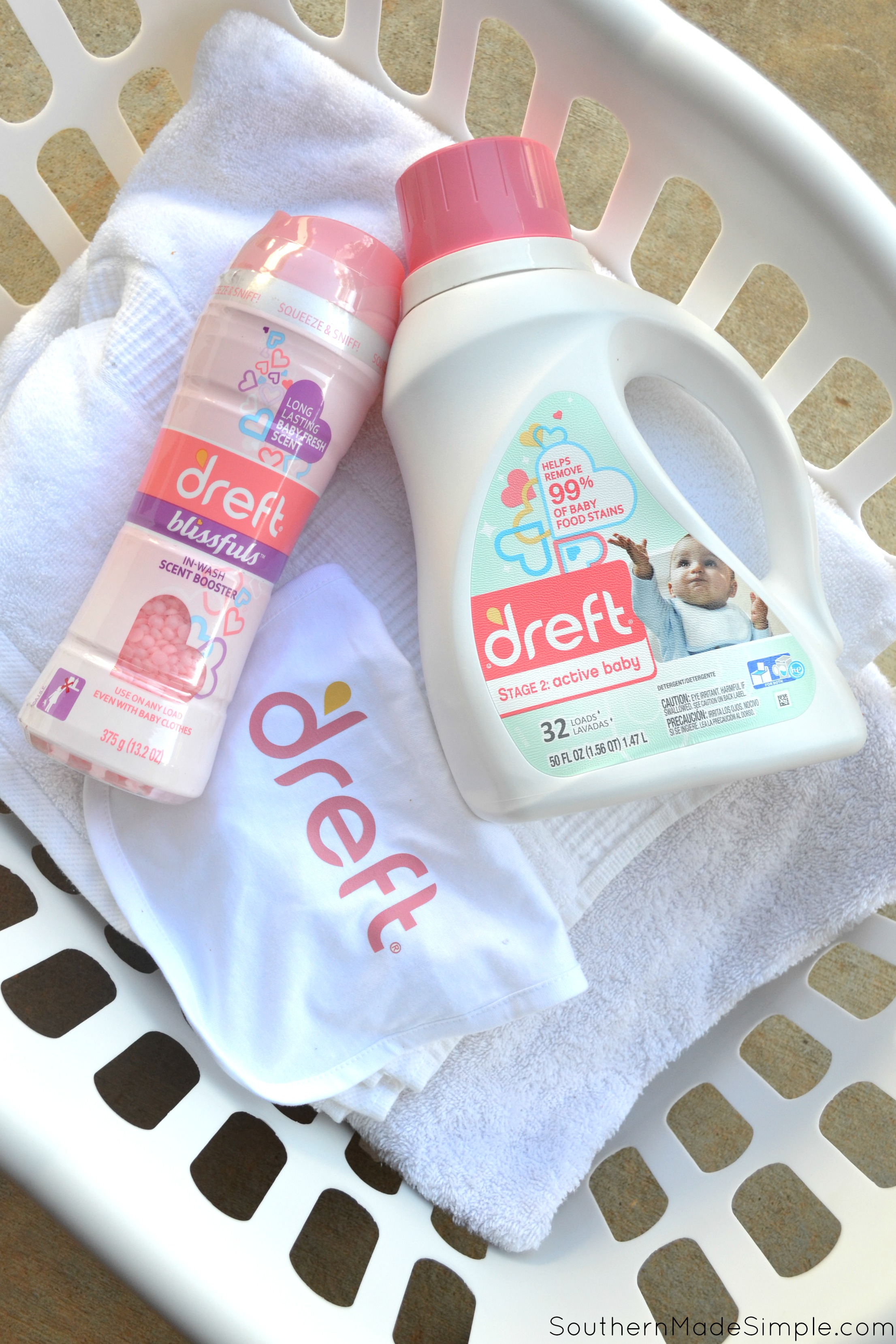 How I turn messes into memories with Dreft