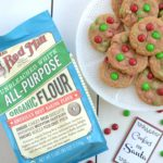 Looking for a simple DIY gift to give your friends this holiday season? Make them a jar of Santa's Cookies using @BobsRedMill flours to make their season bright! #BobsHolidayCheer