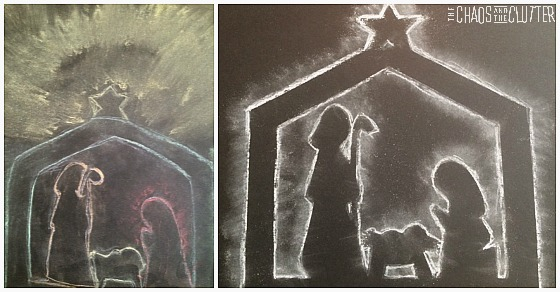 nativity-chalk-silhouette