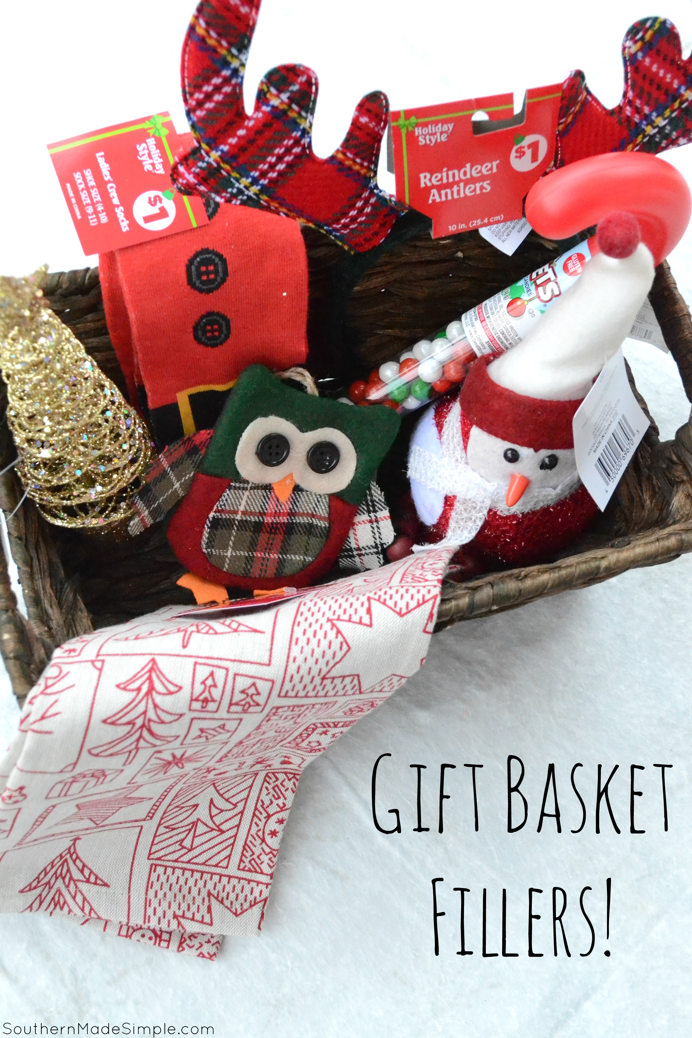 easy holiday gift idea diy cocoa gift basket southern made