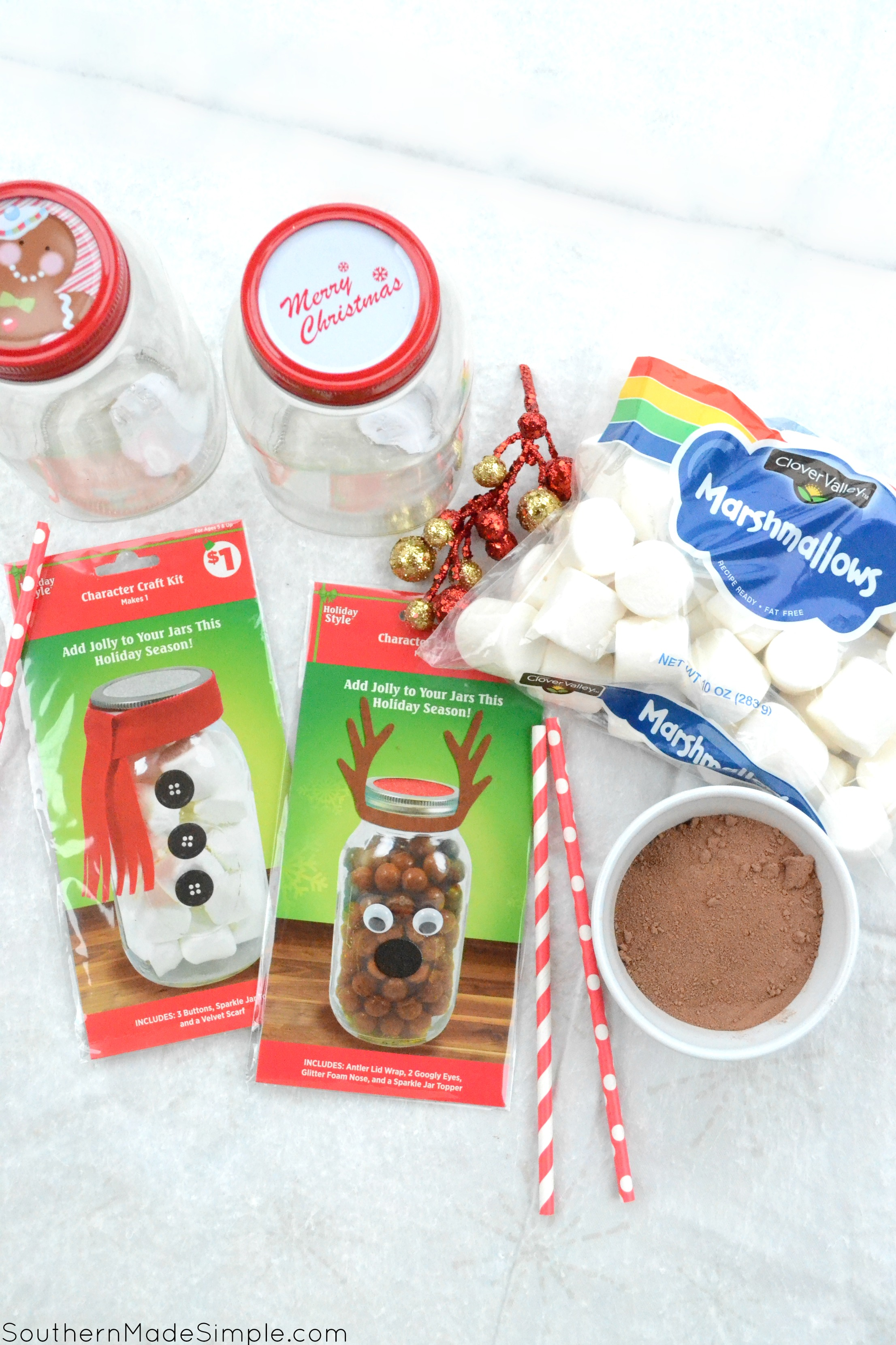 Easy Holiday Gift Idea Diy Hot Cocoa Basket Southern Made Simple