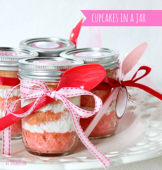 Valentine's Day Snack Crafts