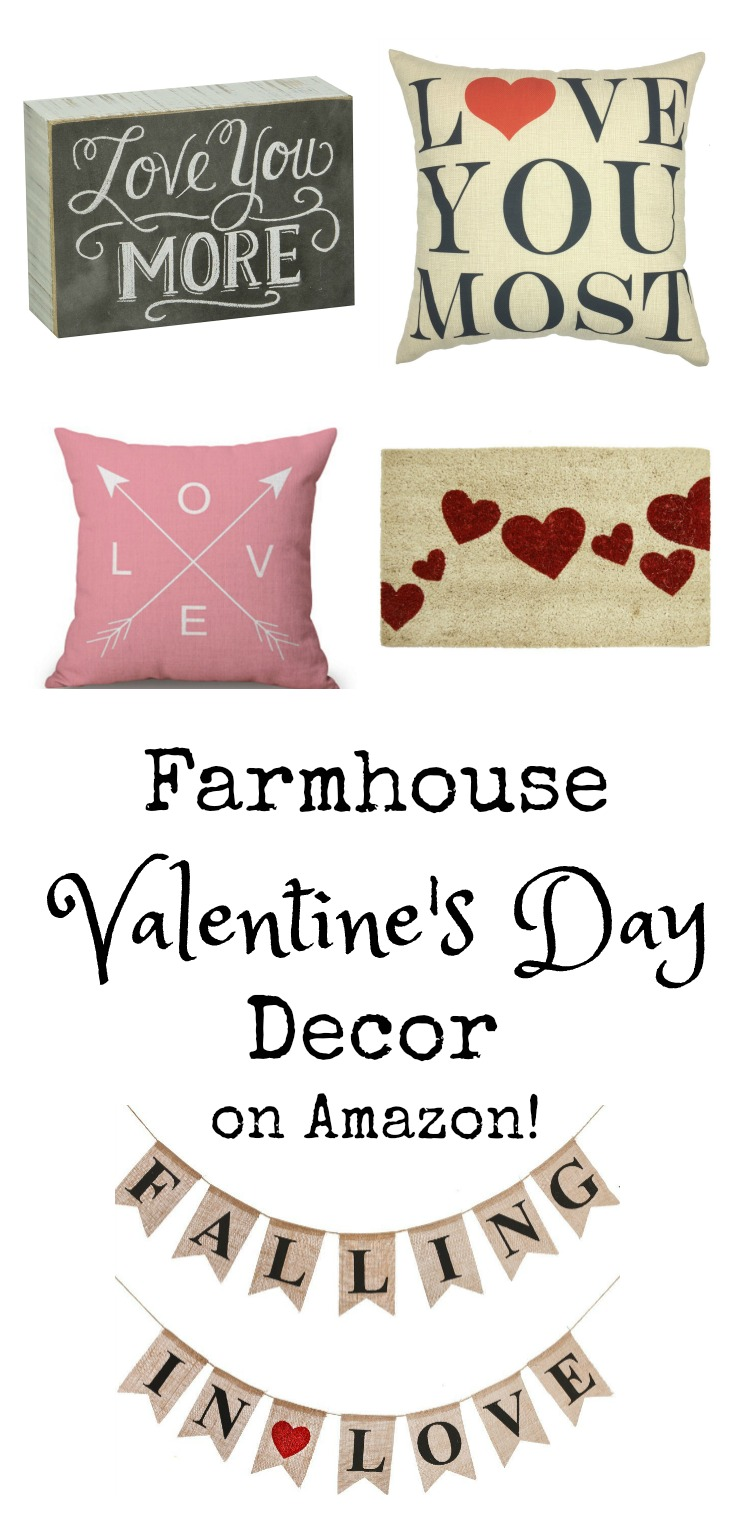 Farmhouse Style Valentine's Day Decor