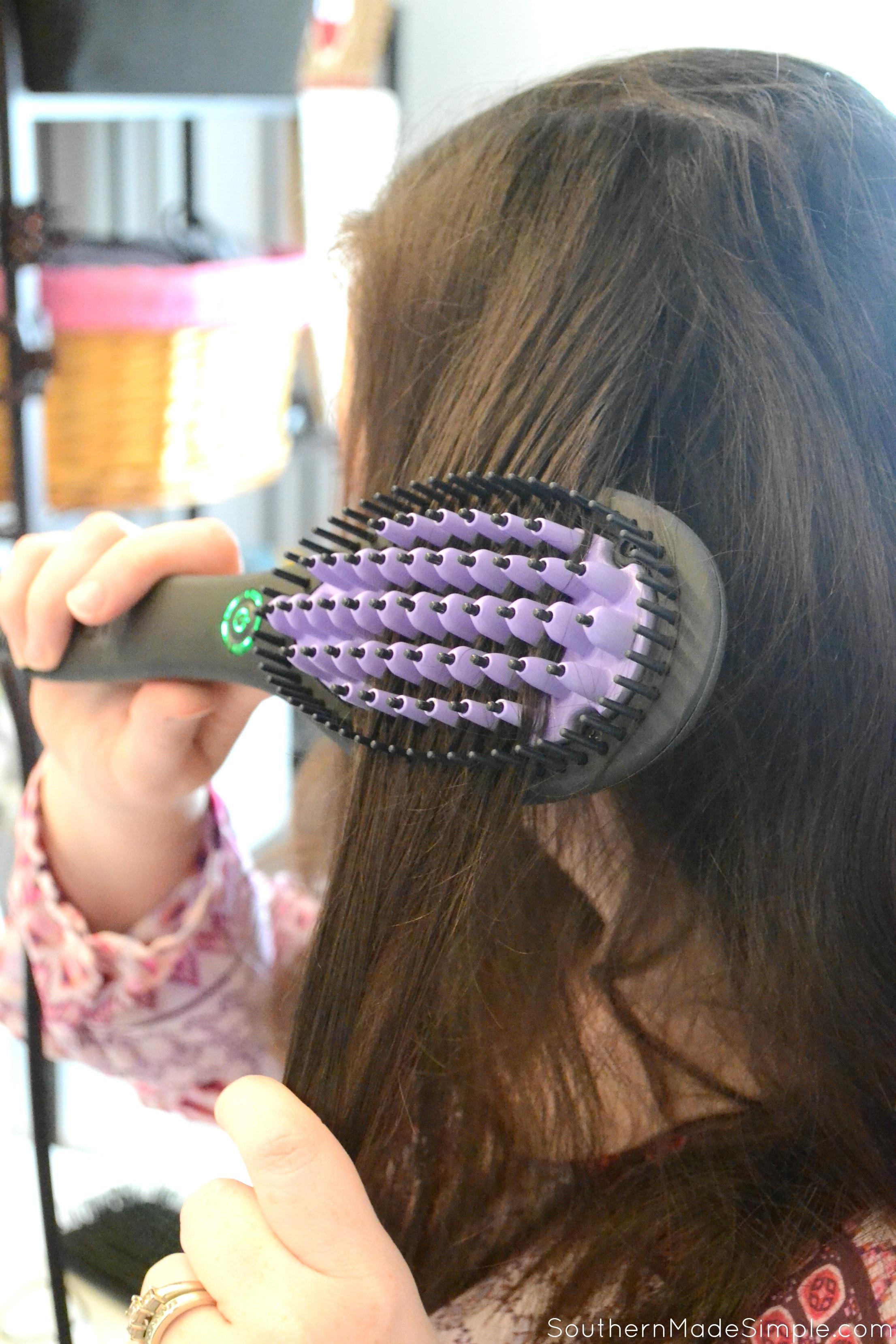 DAFNI Hair Straightening Brush Review