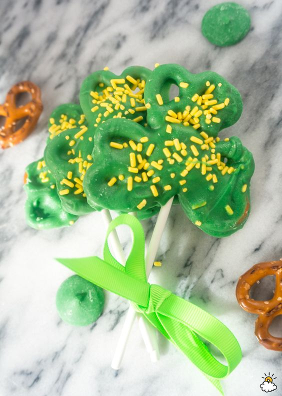 St. Patrick's Day Snack Crafts for Kids