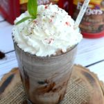 This Mocha Mint Frappe Shake combines perfectly brewed Folgers Coffeehouse Blend coffee with decadent chocolate and mint chip ice cream into an irresistible frappe shake that's beyond delicious and ready in less than 5 minutes! #CoffeeHouseBlend #ad