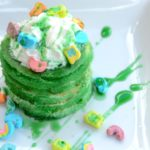 Easy St. Patrick's Day Pancakes