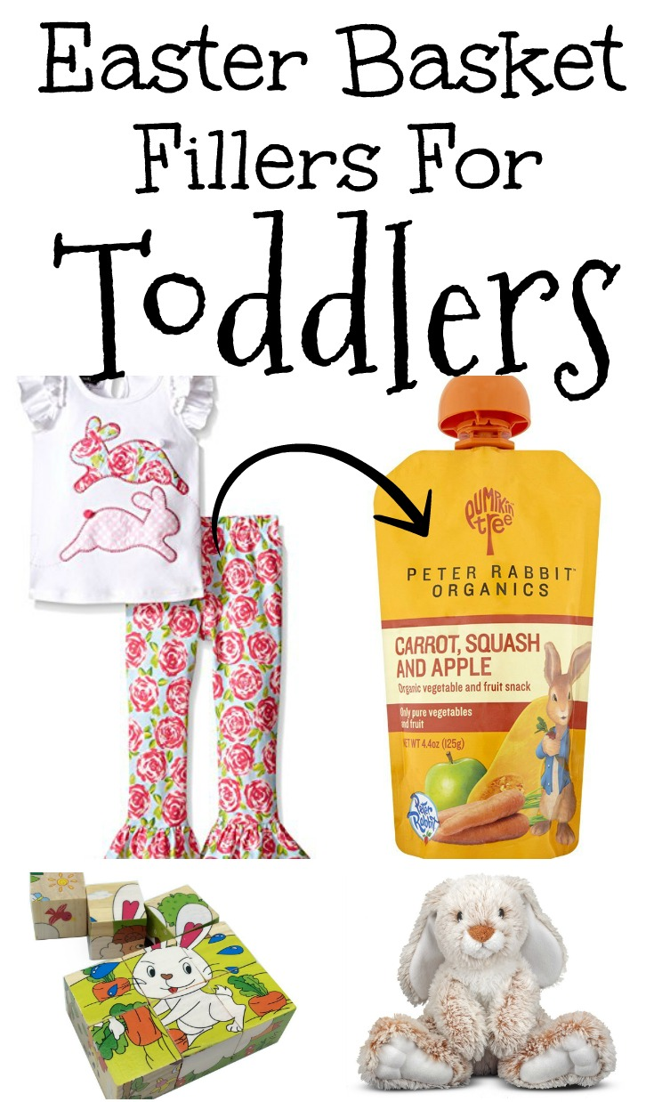 Easter Basket Fillers for Toddlers